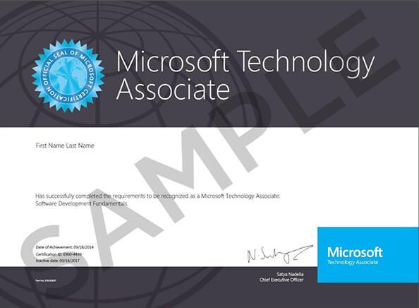 MDszkolenia.pl_MTA_Certyfikat_Microsoft_Technology_Associate